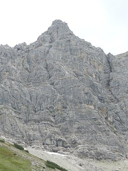 Top Of Pools, Mountain, Summit, Rock Wall, Climb
