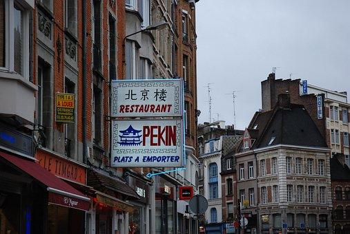 France, Paris, Kanji, Architecture, Skyline, City