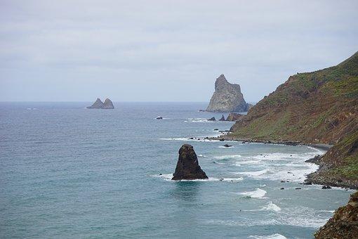 Rock, Roque De La Rapadura, Roques De Anaga, Tenerife