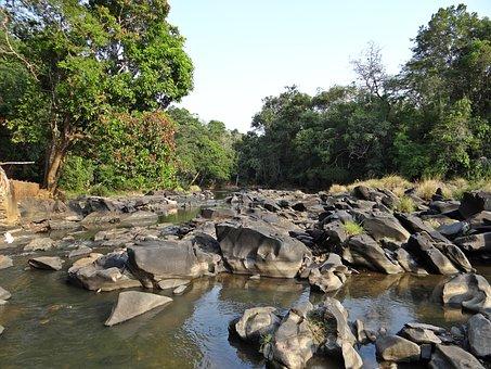 Sahasralinga, Stone, Sculptures, River Bed, Shalmala