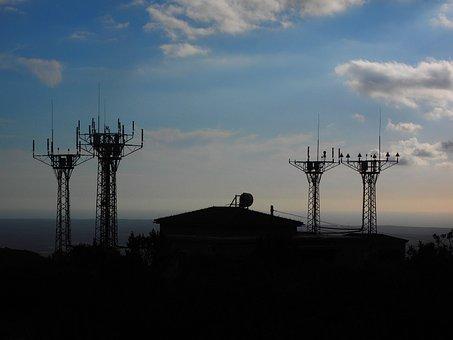 Send System, Cell Towers, Radar Equipment