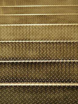 Ladder, Steel, Floor Mat, Surface, Metal, Step Ladder