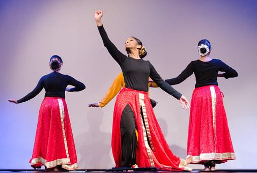 Indian Dance, India, Traditional, Grace, Look Up