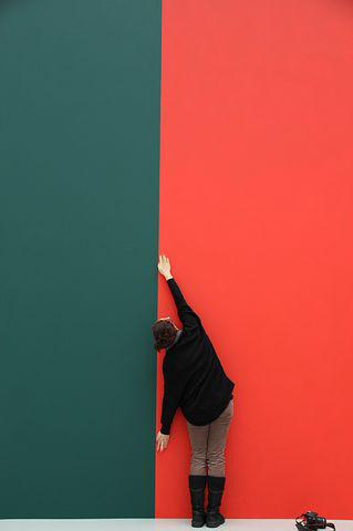 Perspective, Red, Green, Arm Lengths, Wallpaper
