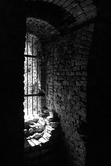Light, Window, Building, Ruin, Architecture, Grid
