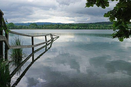 Untersee, Zellersee, Lake Constance, Peninsula Mettnau