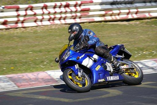 Man, Angle, Motorcycle, Nordschleife, Nürburgring