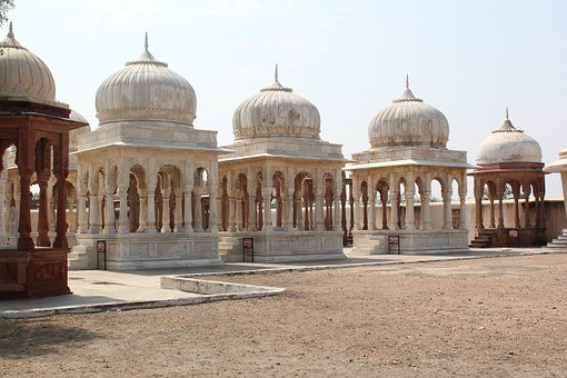 India, Cenotaph, Ancient, Architecture, Old, Rajasthan