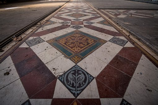 Historic Tile Flooring, Pattern, Architecture