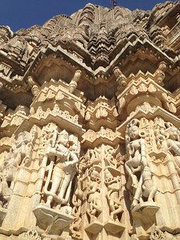Ranakpur, Rajasthan, India, Travel, Asia, Jain, Temple