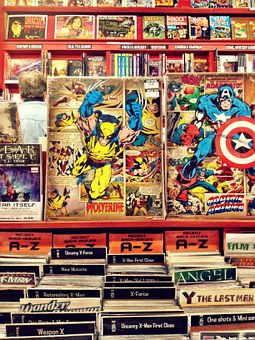 Comics, Comicshop, Superhero, Read, Book, Shops