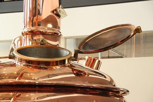 Brewery, Copper, Boiler, Beer, Brew, Metal, Shiny
