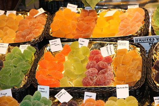 Fruit, Dried, Candied, Market, Called Rothmans