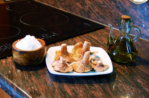 Mushrooms, Trotters, Cook, Kitchen, Catalan Cuisine