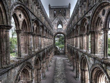 Jedburgh Abbey, Church, Ruins