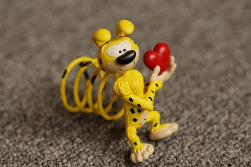 Marsupilami, Comic, Cartoon Character, Yellow, Cartoon