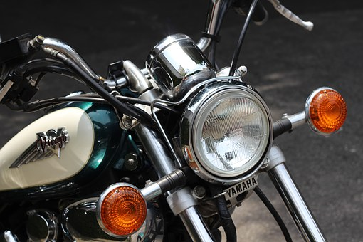 Motorcycle, Yamaha Virago 535, Custom, Estradeira
