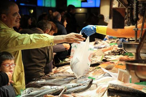Fish Market, Buy, Seafood, Fish, Called Rothmans