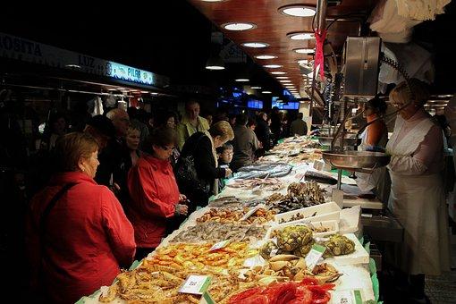 Fish Market, Seafood, Fish, Shrimp, Called Rothmans