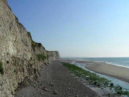 Cap Blanc Nez, France, Calais, Cliffs, Ocean, Travel