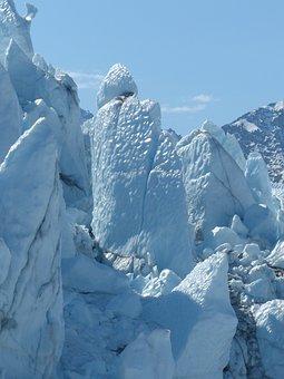 Glacier, Alaska, Ice, Frozen, Outdoor