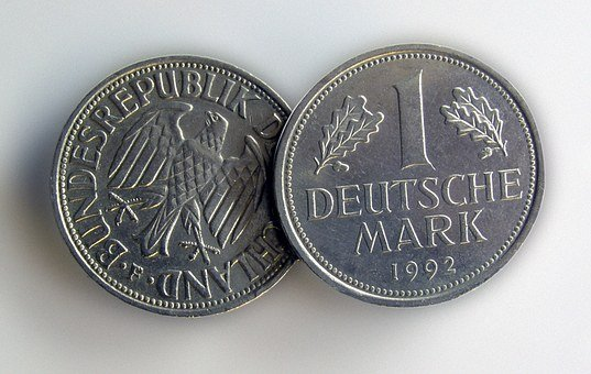 German Mark, Money, Coins, Germany, German, Dm, Mark