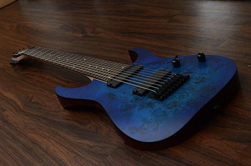 Ibanez Rg8pb, Guitar, Djent, Blue