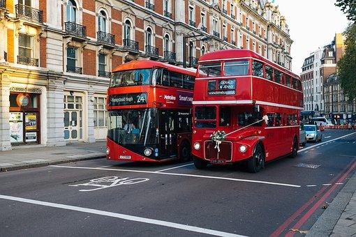 London, Bus, Double Decker, Road, History, Street Scene