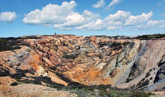 Paris Mountain, Industrial Wasteland, Copper Mining