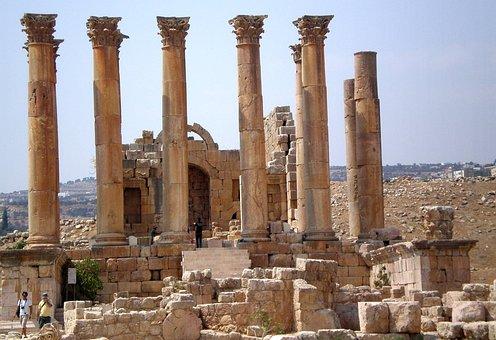 Jordan, Gerasa, Monuments, Rome