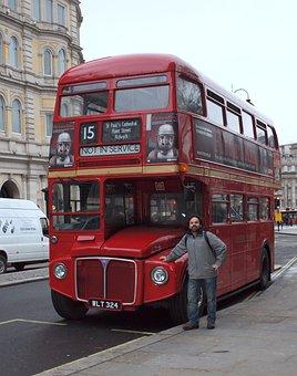 Bus, London, Double Decker Bus, Double Decker, England
