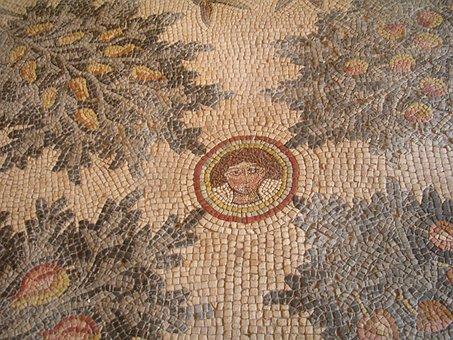 Mosaic, Madaba, Jordan, Church