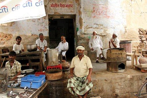 Rajasthan, Café Scene, Man Group