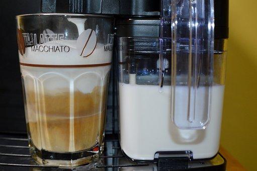 Latte Macchiato, Coffee, Tea, Café Au Lait, Milchschaum