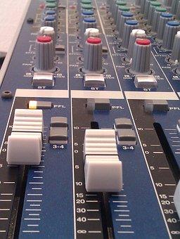Mixer, Fader, Yamaha, Audio