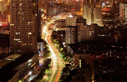 Night View, Nikon, City, Long Exposure, Ningbo