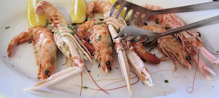 Scampi, Seafood, North, Italy