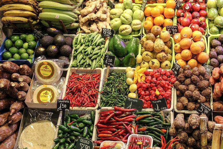 Fruit, Vegetables, Market, Called Rothmans