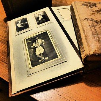 Photo Album, Album, Memories, Photos, Book, Antiquariat