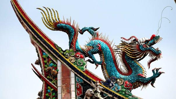 Dragon, The Myth Story, Temple, Animal, China The Myth
