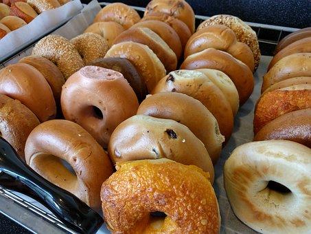 Bagel, Breakfast, Carbohydrate Dieting, Diet, Grain