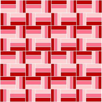 Pink, Red, Burgundy, Pattern, Stripes, Bands, Blocks