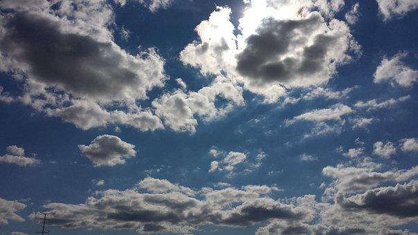 Cloud Power In Bielefeld, Beautiful Clouds Grand