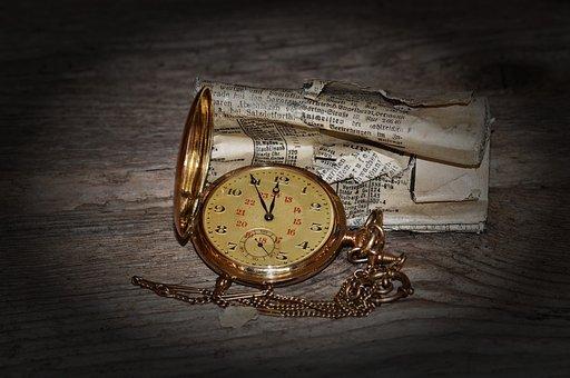 Clock, Pocket Watch, Clock Face, Time Of, Jewellery