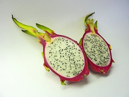 Dragon Fruit, Pitahaya, Pitaya, Fruit, Sweet, Exotic