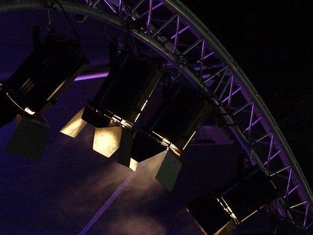 Spot, Lighting, Spotlight, Disco, Nightclub, Lamps