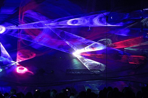 Disco, Lights, Nightclub, Laser, Light Show, Dance