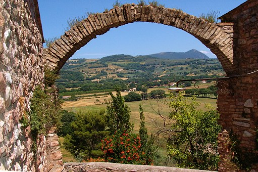 Italy, Arch, Landscape, Outlook, Architecture, Fouling