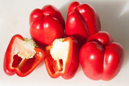 Paprika, Red, Vegetables, Red Pepper, Food
