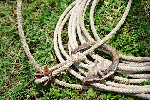 Rope, Riata, Charro, Horseshoe